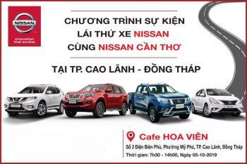 Nissan Đồng Tháp - Lái thử và mua xe giá tốt